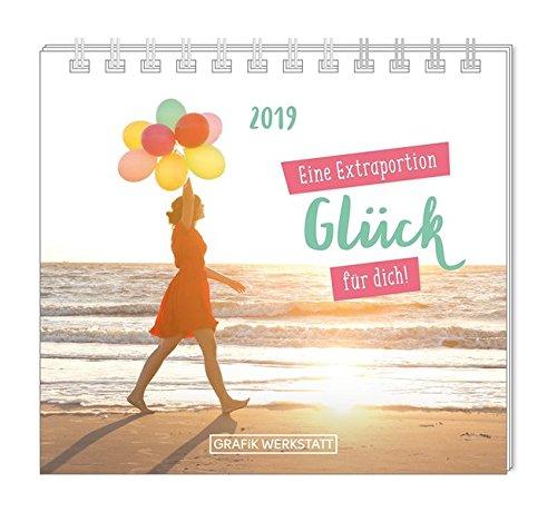 Mini-Kalender 2019 Eine Extraportion Glück für dich!: Minikalender