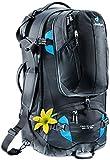 Deuter Damen Trekkingrucksack Traveller 60 plus 10 SL, Black-Turquoise, 70 x 36 x 38 cm, 60 Liter, 351001573210