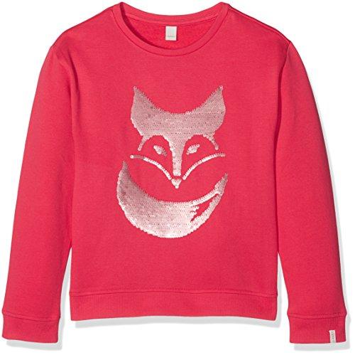 ESPRIT Mädchen Sweatshirt RK15123, Rosa (Camelia 355), 104