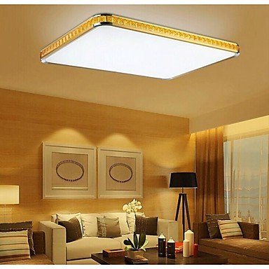 DXZMBDM® Putian@ 32W Flush Mounte LED Light Modern Golden Acrylic with Light Ajustable , White-220-240V -