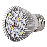 Ballylelly Planta del LED Crece la luz E27 hidroponía para la Flor de Invernadero de Interior Crecen Box