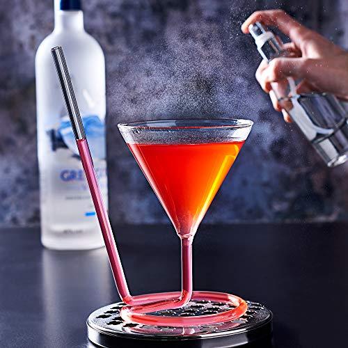 Die siptini Cocktail Glas Extra Stark/220ml-Neuheit Martini Sipper Glas