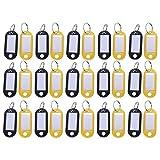 Shumo Etichetta targhetta Universale palstica Colorata in portachivi con Carta di Nome per Bagaglio in Viaggio