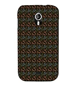 Fuson Designer Back Case Cover for Micromax Canvas HD A116 :: Micromax A116 Canvas HD ( Ethnic Pattern Patterns Floral Decorative Abstact Love Lovely Beauty )