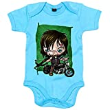 Body bebé The Walking Dead Daryl Dixon Kawaii - Celeste, 6-12 meses