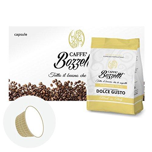 200 Capsule Caffe' BOZZETTI miscela PREMIUM compatibile Dolce Gusto