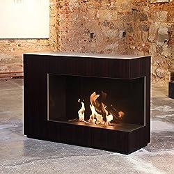 muenkel Diseño loft. Line–De C De 01etanol Chimenea: Chapa de madera–primefire Pro