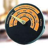 Sdkmah9magnetisch Herd Thermometer, Schnell Lesen Aluminium Legierung Ofen Temperatur, Umweltfreundliche Thermometer Ofenrohr Rohr Thermometer