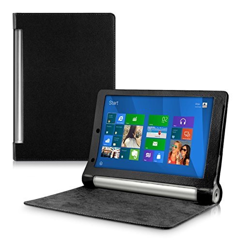 kwmobile Lenovo Yoga Tablet 10 Hülle - Tablet Cover Case Schutzhülle für Lenovo Yoga Tablet 10 mit Ständer