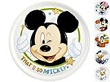 Disney 9019300 Piatto Pizza Mickey Mouse, 6 pezzi