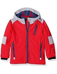 CMP Softshell para joven, otoño/invierno, niño, color rojo, tamaño 128