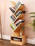Baumförmige Bücherregale Einfache Aufbewahrungsschränke Stand Wohnzimmer Schlafzimmer Kombination Bücherregal Kreative Kinder Bücherregal (Farbe Optional, 33,8 * 18,4 * 122,3 cm) (Farbe: # 2)