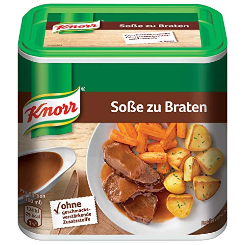 Knorr Braten Soße Dose, 3er-Pack (3 x 2,75 Liter) -