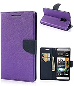 Mercury Flip Cover For SAMSUNG GALAXY ALPHA G850 Purple