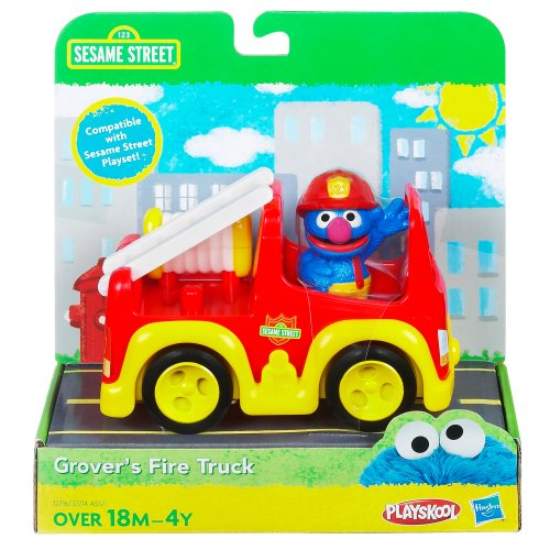 Sesame Street Sesame Street Playskool Grovers Fire Truck