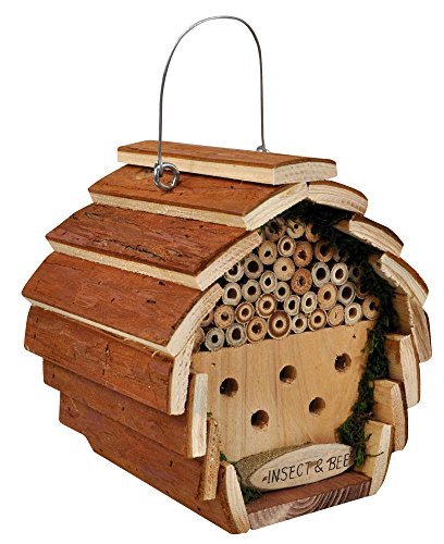 Kingfisher Wooden Insect and Bee Hotel Test