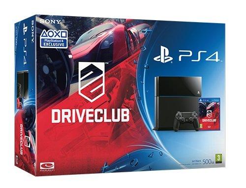 PlayStation 4 - Konsole (inkl. DualShock 4 Wireless Controller + DriveClub) (Ps4-bundle Mit Ps Vita)