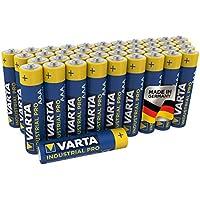 VARTA Industrial Pro Batterie AAA Micro Alkaline Batterien LR03 (umweltschonende Verpackung (40er Pack), Design kann abweichen)