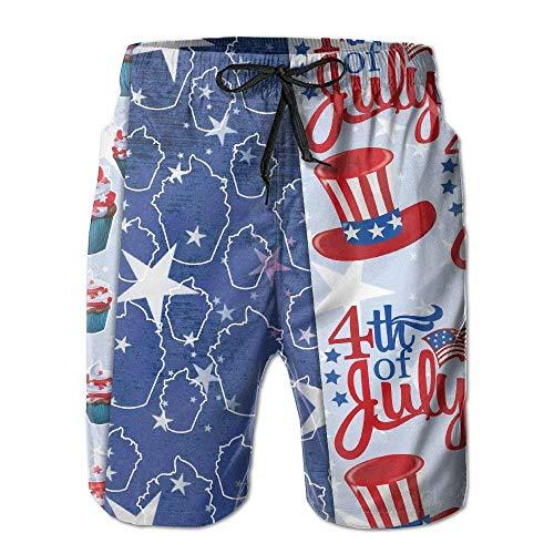 Juli Sommerurlaub Badehose Strand Shorts Board Shorts 2XL ()