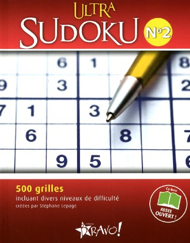 Ultra Sudoku : N° 2 par Stéphane Lepage
