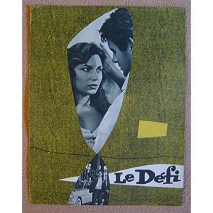 Dossier de presse de Le Défi (1958) – Film de Francesco Rosi avec José Suárez, Rosanna Schiaffino – 8 p – Photos N&B + résumé du scénario – Bon état.