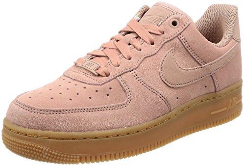 Nike Damen Air Force 1 '07 SE Basketballschuhe, Pink (Particle Pink/Particle Pink), 40.5 EU Nike Air Force 1 Frauen