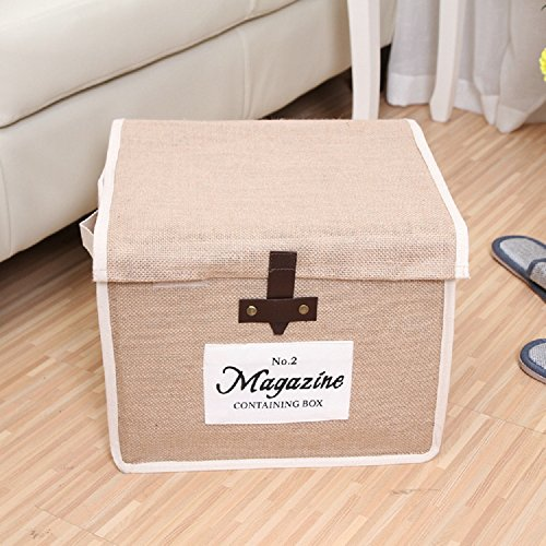 Dealglad® Naturale Jude Eco-friendly grande capacità pieghevole Storage Box Storage Bin
