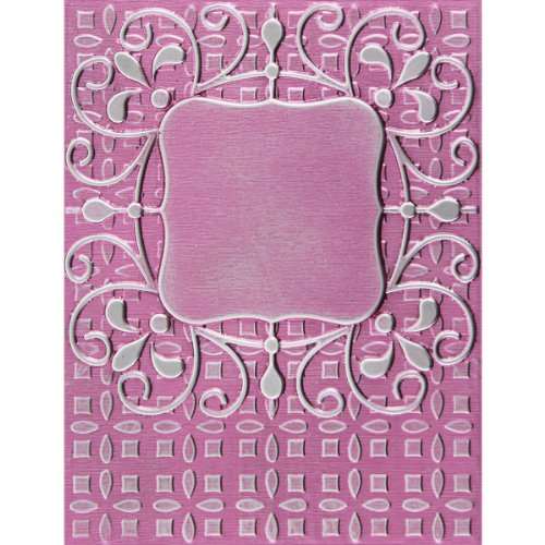 Spellbinders M-Bossabilities 3D Embossing Folder-Ornate Labels 1 (Name Card Scanner)