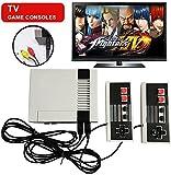 Consola de juegos Mini TV TV familiar clásica de 620 juegos, consola portátil Sistema de juegos retro Consola portátil con controlador dual, te trae recuerdos felices de la infancia