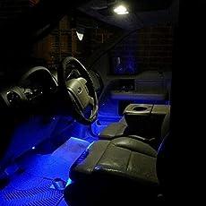 Guance 9 LED Custom Cuttable Bike/Car Blue Light for Interior/Exterior