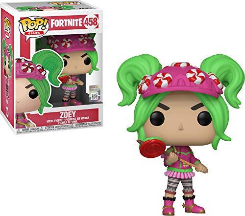 Funko- Pop Figura de Vinilo Zoey Fortnite, (36019)