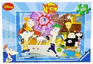 Ravensburger 13051 - Disney Phineas & Ferb: Eine verrückte Erfindung - 300 Teile Puzzle