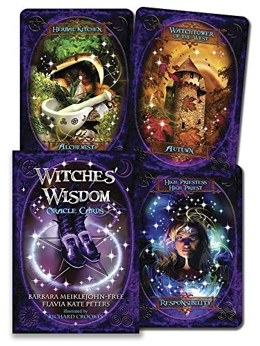 Witches\' Wisdom Oracle Cards