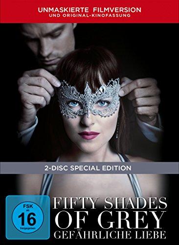 Fifty Shades of Grey 2 – Gefährliche Liebe - Limited Digibook [2 DVDs]