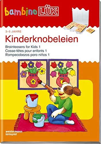 bambinoLÜK-Übungshefte / Kindergarten: bambinoLÜK: Kinder-Knobeleien 1: 3 - 5 Jahre (bambinoLÜK-System, Band 109) -