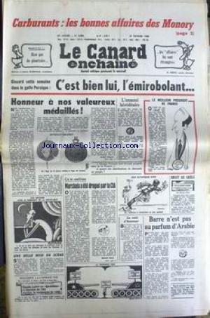 CANARD ENCHAINE (LE) [No 3096] du 27/02/1980 - CAR...