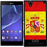 Hülle für Sony Xperia T2 Ultra - Spanien Flag Madrid