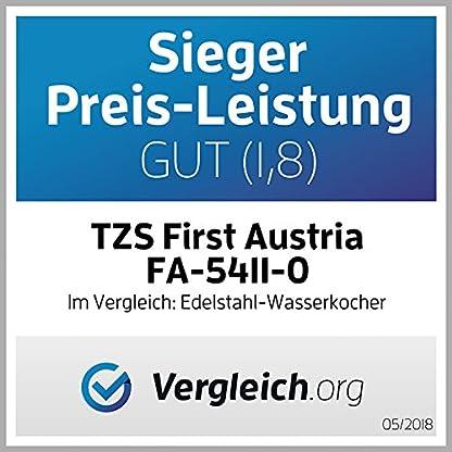TZS-First-Austria-2200W-17L-Edelstahl-Wasserkocher-mit-Temperatureinstellung-60-70-80-90-100-C-2-Std-Warmhaltefunktion-LED-Beleuchtung-Farbwechsel-ndert-Farbe-je-eingestellter-Temperatur