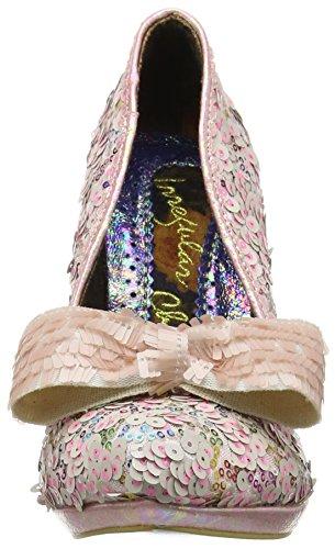 Irregular Choice 4337-1C, Scarpe con Tacco Donna Multicolore (White Multi)