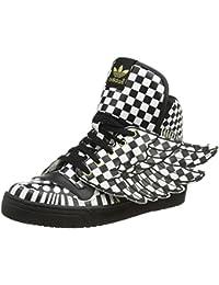 online store 38b0a e4873 adidas Jeremy Scott Caballeros Sneakers JS WINGS OPART Negro Blanco