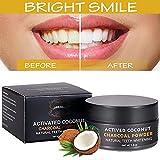 Bleaching Zähne,Aktivkohlepulver,Aktivkohle,bleaching für die zähne,Aktivkohle Pulver,zahnaufhellung,-Wirksam gegen Mundgeruch,Cavity,Beize,Plaque,Gingivitis,weiches Pulver für empfindliche Zähne -