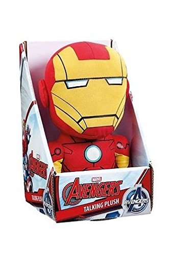 Iron Man Plush - Talking - Marvel - 23cm 9""