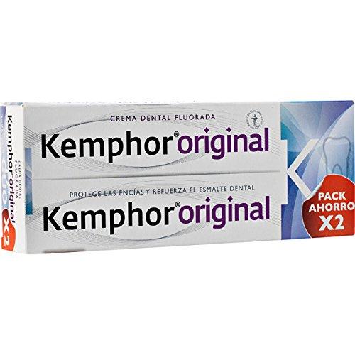 Pasta de dientes Kemphor envase ahorro 2x75 ml