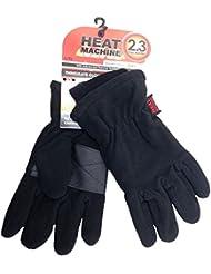 Homme Noir Gants Heat Machine TOG 2,3thermique chaud neige d'hiver Thinsulate doux