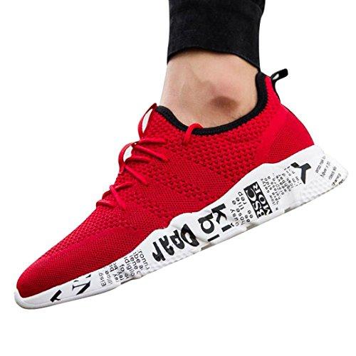 UOMOGO® Sneakers Uomo, Scarpe da Fitness Uomo, Scarpe da Sportive Corsa Running Sport Sneaker Casual Outdoor Tennis Scarpe da Ginnastica 3 cm