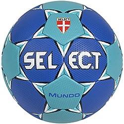 Select Mundo - Balón de balonmano, color azul oscuro y turquesa azul azul/turquesa Talla:0