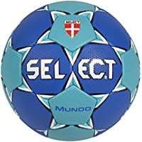 Select 1662858222 Mundo - Balón de balonmano (tamaño 3), color azul marino y turquesa
