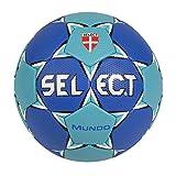 Select Ballon de Handball Mundo 1 Bleu - Bleu/Turquoise