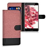kwmobile Wallet Case for OnePlus 3 / 3T - Fabric and PU