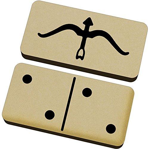 Azeeda \'Bogenpfeil\' Domino-Spiel und Box (DM00017149)